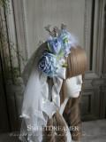 Sweetdreamer Mockingbird song Rose feather pearl bow tie Lolita hairband KC