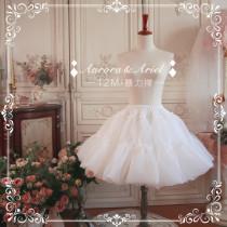 【Aurora&Ariel】12M Puffy Organdy Petticoat
