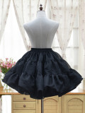 Sweet Lolita  half-length glass yarn skirt /petticoat