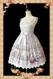 【Infanta】Lolita An antique dress shop Printed JSK dress+kc