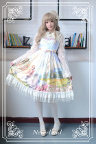 *Neverland*Song of Skylark  Lolita print jsk dress