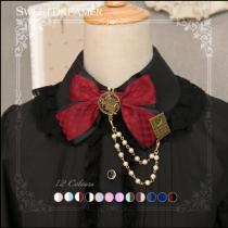 Sweetdreamer Goodbye Alice hand make poker - chain Lolita brooch