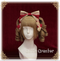 Sweetdreamer Fairytale World Miss Canary Ribbon Lolita hairband