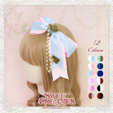 Sweetdreamer Fairytale World Goodbye Alice Poker chain Lolita hairband/headbow KC