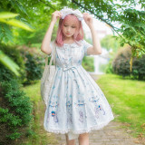 Lolita Daily Rabbit Ears Dress, Female Princess Skirt