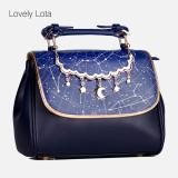 【MuFish】Sweet lolita Daily starry sky print bag