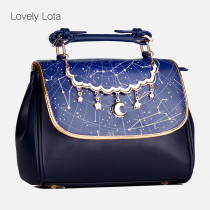 【MuFish】Sweet lolita Daily starry sky print bag