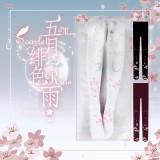 【Yidhra】May~Scarlet~Rain~Water reflection * Moon cherry blossom lolita pantyhose