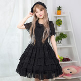 Lolita soft daily dress Sweet Lolita summer new princess skirt