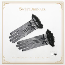 SweetDreamer Pearlbow  Lolita vintage lace gloves