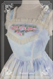 *Neverland*Song of Skylark  Lolita print jsk dress