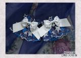 Sweetdreamer Star falling night Star lace bow star moon water drill pendant Lolita wristcuffs