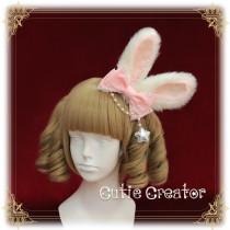 SweetDreamer Baby Rabbit Cute Plush Rabbit Ear Lolita Hair Clip Hairband