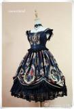 *Neverland*Fantasy Night Museum lolita printging JSK dress Version Ⅰ