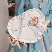 【MuFish】Sweet lolita Heart-shaped gift box lolita bag