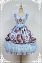 *Neverland*Fantasy Night Museum lolita printging JSK dress Version Ⅰ