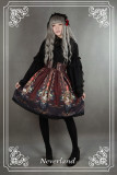 *Neverland*Lost in Rococo Vintage printing skirt