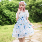Lolita Dress Summer New Starfish Song JSK Daily Lolita Princess Skirt
