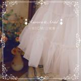 【Aurora&Ariel】60cm Daily Puffy A-line Petticoat