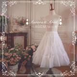 【Aurora&Ariel】60cm mini Daily Puffy A-line Petticoat