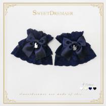 Sweetdreamer My kitten Lace bow Lolita  Wristcuffs