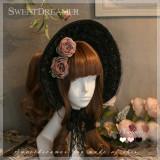 Sweetdreamer Jogia vintage lace straps Lolita bonnet sunshade.