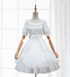 Sweet Lolita S/S chiffon lovely princess high waist  dress