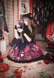 MILU FOREST~Sacrifice to Red Leaves~Gothic Lolita shirt /blouse