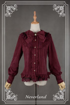 *Neverland*Lily Chou  Round collared with thick shirt for winter  pre-order