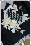 ChessStory~chinese lolita style two colors splicing jsk dress