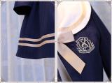 Magic music shool ~Viola Embroidery Academy Wind Coat + Half Skirt