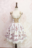 Alice girl~Steam Bear Gear Double buttoning skirt pre-order