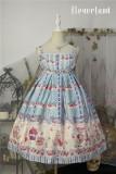 *Neverland*Cherry & deer 2018 lovely printing lolita JSK dress version Ⅰ pre-order