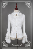 *Neverland*Dracula gothic lolita Straight-necked hiem sleeved shirt pre-order