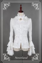 *Neverland*Dracula gothic lolita Straight-necked hiem sleeved shirt pre-order