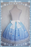 ChessStory~Dreamy Starry Night series print lolita skirt