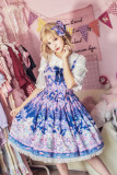 MILU FOREST~Easter Bunny print lolita JSK dress