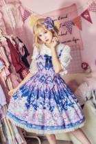 MILU FOREST~Easter Bunny print lolita JSK dress