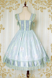 Strawberry Witch~Little Angels Striped Empire-Line JSK dress