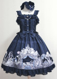 MILU FOREST~Sleeping beauty print lolita jsk dress version Ⅱ
