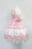 *Neverland*Cherry & deer 2018 lovely printing lolita JSK dress version Ⅱ pre-order