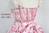 *Neverland*Cherry & deer 2018 lovely printing lolita JSK dress version Ⅲ pre-order