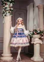 *Neverland*Cherry & deer 2018 lovely printing lolita JSK dress version Ⅲ pre-order