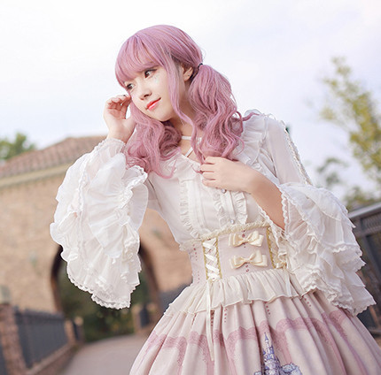 MILU FOREST~Sleeping beauty Hime Lolita blouse