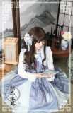 ChessStory~Camellia series Chinese style set small coat jsk dress