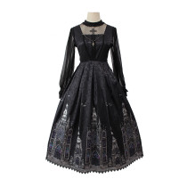 Alice girl~Cross Church~elegant gothic lolita jumper/jsk dress pre-order