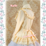 Strawberry Witch~Custom Size Available Isabella silk linen sweet lolita lapel blouses