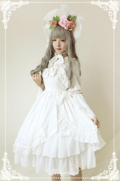*Neverland*Tears of Mermaid high waist sweet lolita jsk dress