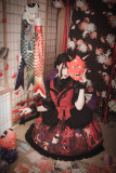 MILU FOREST~Sacrifice to Red Leaves~print Gothic Lolita JSK dress