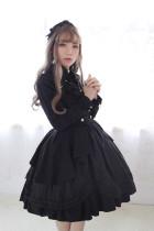 *Neverland*Morning Star Idol Academy College style Lolita strap half skirt pre-order